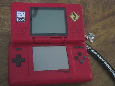 Red DS open